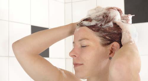 Dauerwelle nach waschen